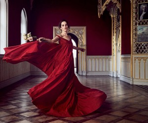 Michelle Dockery на страницах Town & Country Magazine