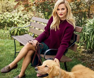Reese Witherspoon для журнала InStyle