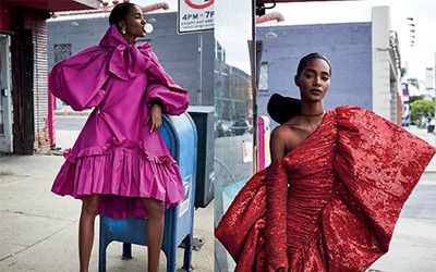 Tami Williams на страницах журнала Vogue Spain