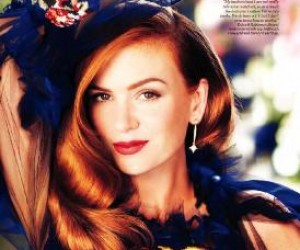 Isla Fisher для InStyle