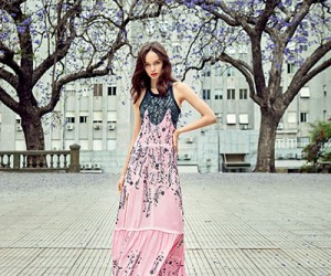 Luma Grothe на страницах Air France Madame Magazine