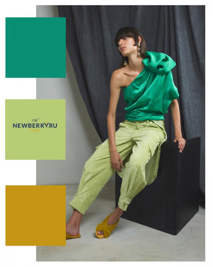 Модные цветовые сочетания в одежде весна-лето 2020