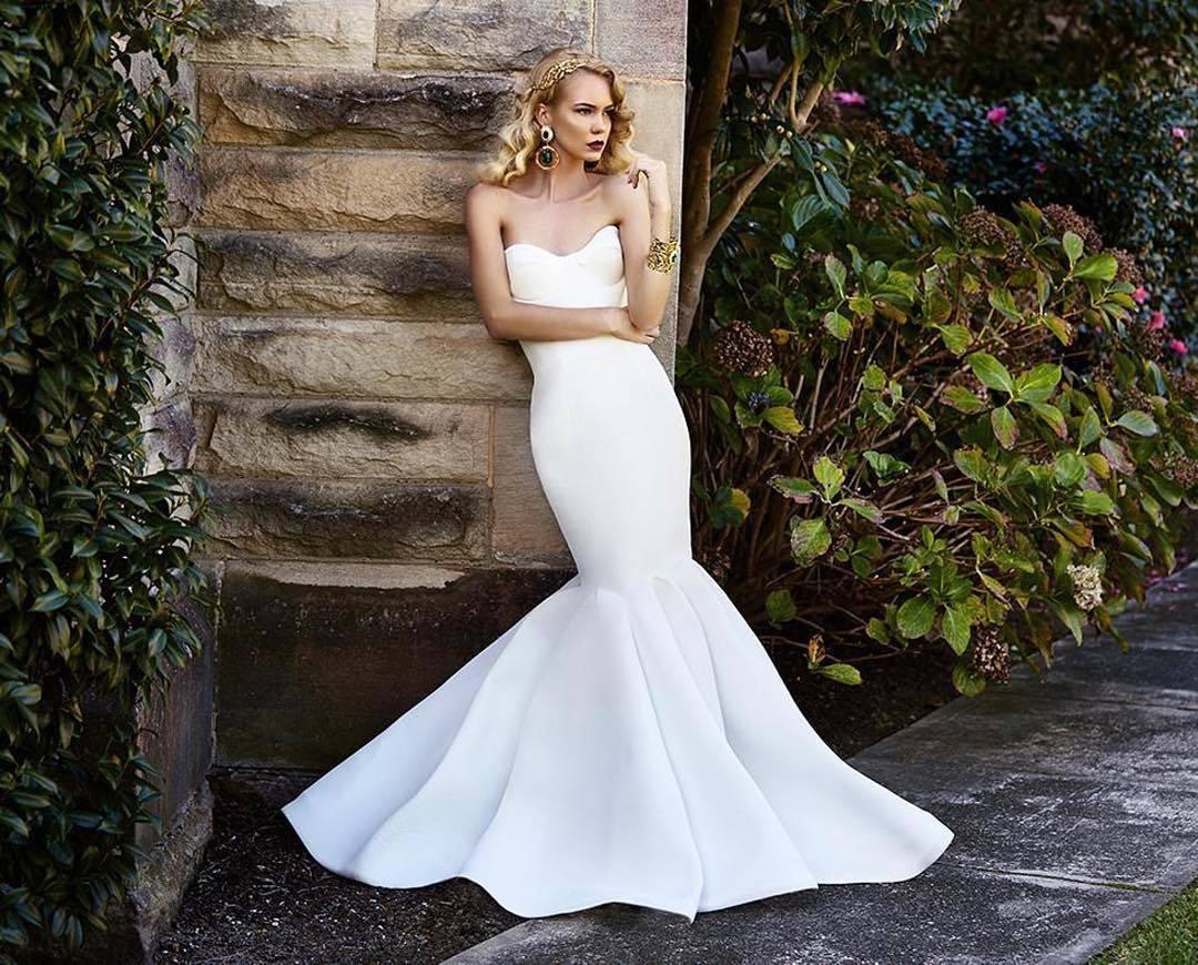 картинки свадебного платья русалка уход ними требуют