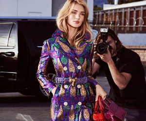 Rosie Huntington-Whiteley для журнала InStyle US