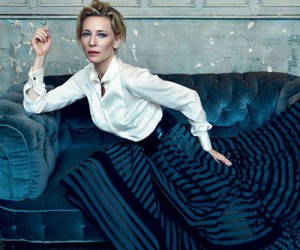 Cate Blanchett для журнала Harper's Bazaar UK