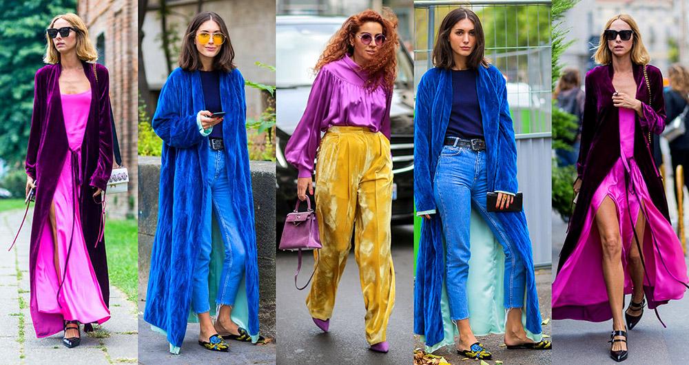 a8f0d02c480a Но в современном исполнении вещи из бархата на самых известных модницах и  fashion-блогерах выглядят очень ярко, ...
